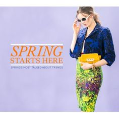 Spring's Most Talked About Trends + EXCLUSIVE VIDEO. http://b-insider.com/2013/spring-is-here/