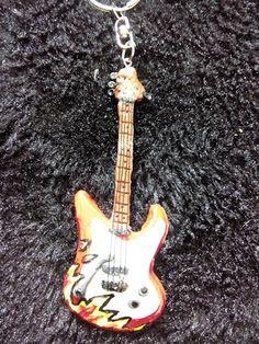 Guitar en fimo