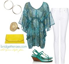 """""""Ocean Style"""" by bridgetteraes ❤ liked on Polyvore"""