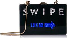 MILLY Swipe Box Clutch, Multi