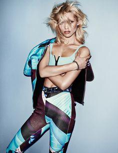 hana jirickova pictures1 Hana Jirickova Poses for Hasse Nielsen in Sporty Vogue Spain Spread  , sport