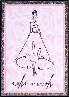 Stamper's Anonymous / Tim Holtz - Layering Stencil - Scribbles (roses)