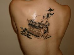 Literature Related Tattoos | A Girl & Her Books