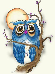 hibou+-+owl+by+xtruthpath.deviantart.com+on+@deviantART