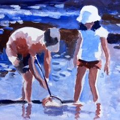 Fiona Peart, as I was saying...UK painter with several youtube vids and a nice teaching and painting style