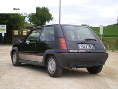 Renault 5 GT Turbo Phase 1 Black