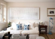 """The rules to follow (and break) when decorating a small space: Apartment dwellers are used to making life work in a small space but it doesn't mean you have to decorate in a certain way or barely have any furniture. Architect Daniel Boddam shares his tips for creating a comfortable home in a small space without compromising on style. """"I try and create the same luxurious feeling of space you would expect in a larger home. The most successful small spaces tend to be clean, simple and refined…"""