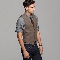 Mens vest outfit
