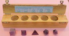 Los cinco poliedros regulares fueron descubiertos por los antiguos griegos, los pitagóricos conocían...