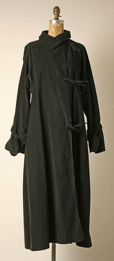 Coat  Fendi  (Italian, founded 1925)~to remember I want to make a hooded cape type coat with ties.