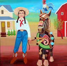 Jude Bischoff Modern Animals Connie's Pony