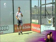 Fernando Poggi programa de padel En Accion, posición en pista