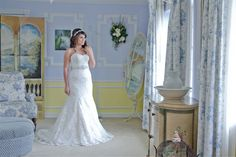 Bridal Portrait at Longwood-Community-Center - Photo by Love Storey Photography - Click pin for more photos www.orangeblossombride.com
