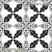 Moroccan Repeat Pattern    Available as a vector file on www.patterndesigns.com
