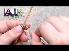 Stitches: Tubular Odd-Count Peyote - YouTube