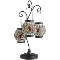 Kaleidoscope Mosaic Hanging Lantern