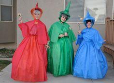 Sleeping Beauty Fairies Costumes