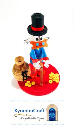 Paper Art Quilling  Disney Scrooge McDuck by kyomoncraft on DeviantArt