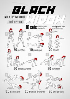 Black Widow Workout If only all of us could be as amazing as Marvel's Black Widow. Maybe with this workout we could at least come a little closer ; Fitness Hacks, Fitness Workouts, Hero Workouts, Sport Fitness, At Home Workouts, Fitness Motivation, Movie Workouts, Morning Workouts, Health Fitness