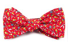 Fentone Floral - Apple Red   Ties, Bow Ties, and Pocket Squares   The Tie Bar