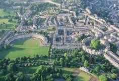 The Luscious Expanse Of Bath, England