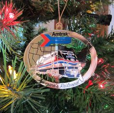 Amtrak Ornament from Christmas 2012