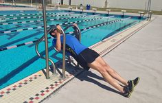 Becoming a faster swimmer isn& just about adding more laps in the pool. Training outside of the water is arguably just as important, and these moves can help you improve. Swimming Drills, Swimming Tips, Keep Swimming, Swimming Workouts, Swimming Motivation, Swimming Strokes, Water Aerobics, Training Workouts, Swim Training