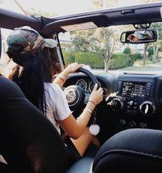 Jeep Baby, Tumblr Car, Tumblr Girls, Car Photos, Car Pictures, My Dream Car, Dream Cars, Paris By Night, Girls Driving