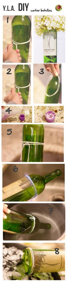 Cortar botellas.