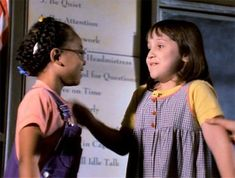 Matilda co-stars Mara Wilson and Kiami Davael reunite after 19 years Picture Movie, Movie Tv, Mara Wilson, Matilda Costume, Friends Reunited, Disney Channel Movies, Last Minute Halloween Costumes, Seven Years Old, Couple