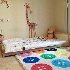 La cameretta Montessori di Oliver tutta Ikea — e come farla
