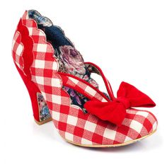 Buy Irregular Choice shoes, boots, handbags and jewellery online. View the biggest and best Irregular Choice collection here. Irregular Choice Shoes, Curtain Call, Quirky Fashion, Dream Shoes, Retro Outfits, Shoe Collection, Rain Boots, Kitten Heels, Peep Toe