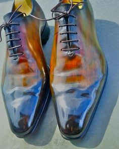 The Shoe Snob: Shoes Of The Week - Landry Lacour Patina