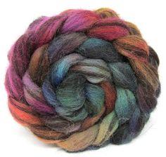 Jacob Humbug Kettle Dyed Wool Top JHT43 100g 3.5oz