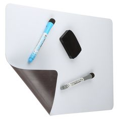 Amazon.com : Magnetic Dry Erase White Board For Kitchen Fridge with Stain…