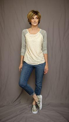 Market & Spruce Bernadette Lace Overlay Raglan Top #stitchfix https://www.stitchfix.com/referral/6122894