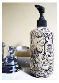 How to make a custom soap dispenser for your bathroom or kitchen sink, an easy DIY tutorial