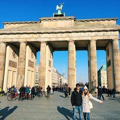 Primer día en #Berlín!!! Solazo y día espectacular! Y mañana por fin con @benchoriginal para conocer su nueva colección con @jessglynne  #JGxBench by tuttimarquez