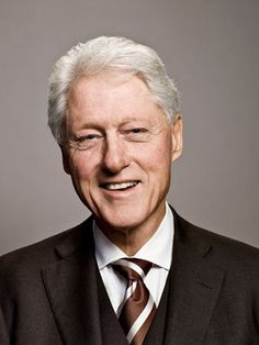 Bill Clinton, what a nice picture