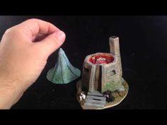 Harry Potter Hagrid's House Custom Ring Box - YouTube