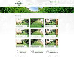 #projekt #strony www Ogrody