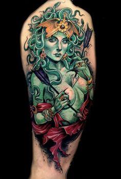 Awe-Inspiring Neo Traditional Tattoos By Sam Smith   Tattoodo.com