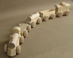 Wooden Toy Train.