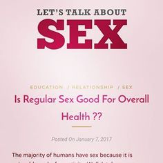 The majority of humans have sex because it is enjoyable and a fun activity. Well, lately some sex experts have been recommending sex as a form of exercise and good health. But is this true? Should we all be spending …