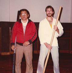 V. Tamashiro Sensei 1983 Okinawan Karate, Baseball