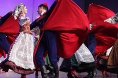 """lamus-dworski: Various Polish folk dresses and dances from the repertoire of the """"Mazowsze"""" Song and Dance Ensemble."""