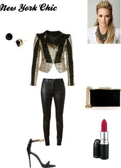 """New York Chic"" by ndewalt on Polyvore"