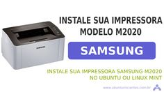 Imagem criada para a postagem de instalação de uma impressora samsung no Ubuntu