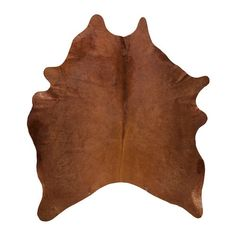 IKEA - KOLDBY, Cow hide, brown, Marks, colour and size variations are natural characteristics of the leather and make each cowhide unique. The cowhide is naturally durable and will last for many years.