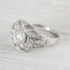 Snippets, Whispers and Ribbons – 25 Gorgeous Vintage Engagement Rings